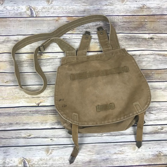 Vintage Bags   Military Canvas Crossbody Bike Bag Purse   Poshmark 83916a3592